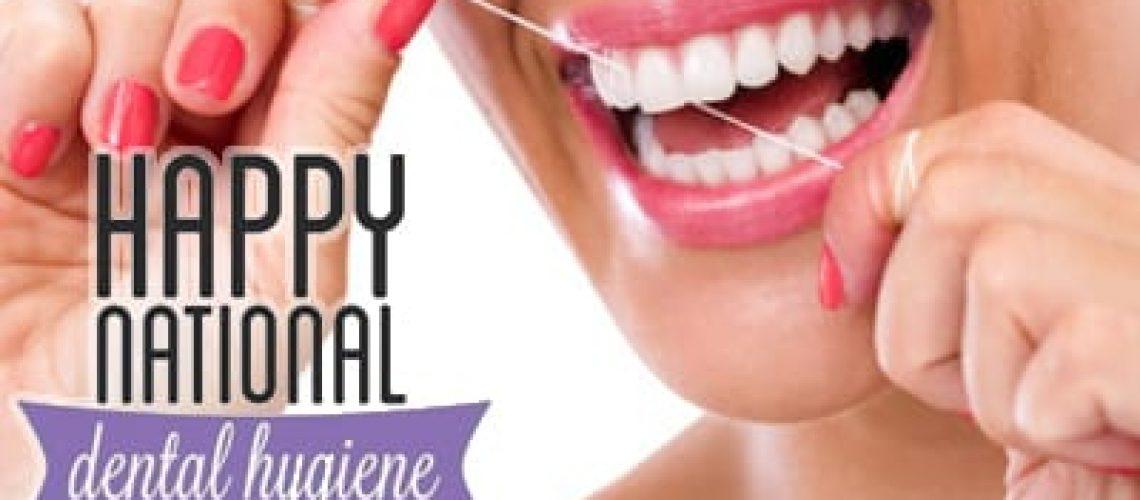 It's National Dental Hygiene Month